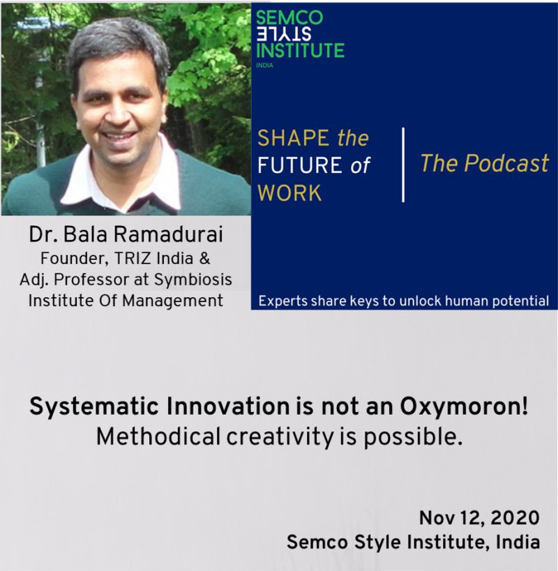 Systematic Innovation is not an oxymoron - podcast